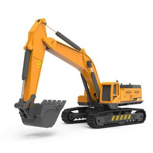 어린이 Y200109 중고 Caterpillar 굴삭기 장난감 트럭 1시 55분 다이 캐스트 건설 장난감 자동차 모델 파는 트랙터 자동차 엔지니어링 장난감