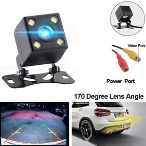2019 Araç Ters Kamera Arka Görüş Kamerası 170 Derece Gece Versiyon IP68 su geçirmez Para Otomatik Yedekleme Dikiz Park Kamera Cofania DHL