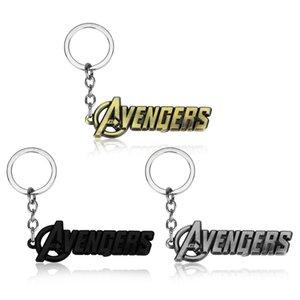 Hot Marvel Avengers Logo Portachiavi in metallo per uomini Donne regalo Avengers Infinity War Portachiavi Accessori di gioielli