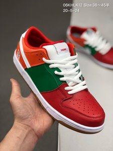 Homens Low Dunk 7-Eleven Raygun instantâneo Skate Sapatos Mulheres 7 11 de Ben Jerry Baixa Chunky Dunky Safari Strangelove Sports Sneakers 36-44