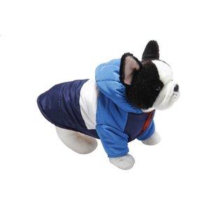 1PCS Pet Dog Clothes Coat Soft Cotton Clothing Dog Vest for Pet Dog Jacket 5 Sizes 5 Colors