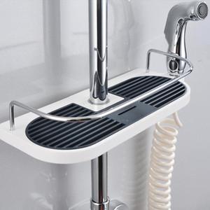 스테인레스 스틸 사각형 욕실 주최자 샤워 선반 스토리지 랙 홀더 샴푸 트레이 욕실 단일 계층 헤드 홀더