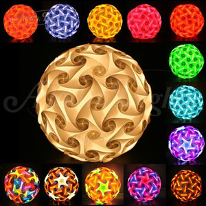30 pcs / set 250 mm Modern Contemporary DIY Elements IQ Jigsaw Puzzle Lamp Shade Ceiling Pendant Lamp Ball Lighting