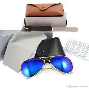 Новые солнцезащитные очки Цветная пленка Lens Designer мужские солнцезащитные очки ray Mirror солнцезащитные очки