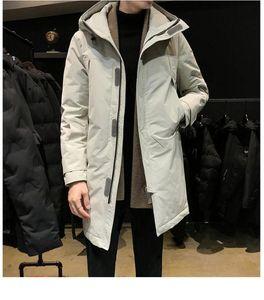 Men's Down & Parkas 2021 Winter Black Fashion Casual Top Jacket