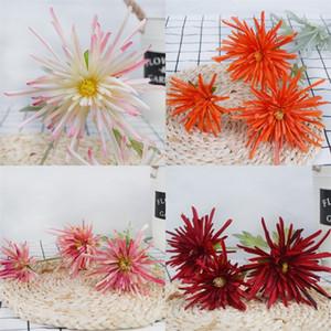 Multi Farben Künstliche Seidenblume Wohnkultur Dekoration Simulierte Blumen Hochzeit Hand Krabben Klaue Chrysantheme 6 8xh L1
