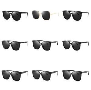 2020 DPZ поляризованные солнцезащитные очки мужчины металл новый шаблон авиации классический ретро старинные UV400 солнцезащитные очки#679