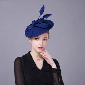 Linglong clothing season Женская одежда головной убор шляпа британский высококачественный шерстяной головной убор элегантная женская маленькая шляпа