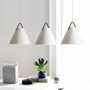 Modern Iron Pendant Lights Nordic Style hanging lights for Kitchen Living Dining room Pendant Lamp hanglamp suspension luminaire