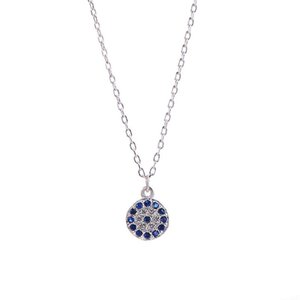 Round Shape Eyes of Devil Necklaces Pendants Women Necklaces Pendants Jewelry Collar Colar de Plata Hot