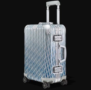 DIOOR ACCIAIO Trolley Valigie Bagagli di rotolamento Trunks Cabin continuare a check-in Air Box Valigia Jewelry Box per viaggi d'affari