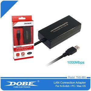 TNS-865 Switch Game Machine USB Network Card 1000 M Nic Switch Wired NIC Wii NIC WiiU Nic