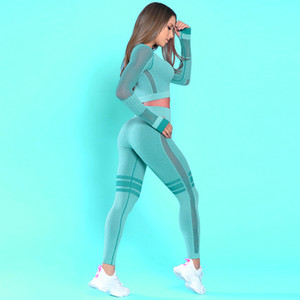 High Waist Nahtlose Leggings Push Up Leggins Sport Frauen Fitness Jogging Yoga Pants Energie Seamless Leggings Gymnastik-Mädchen Leggins Yoga Anzug