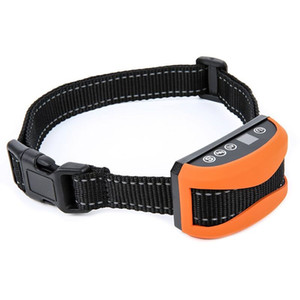 Chien anti aboiement de chien Bark Stop collier Pas Bark étanche rechargeable son choc Vibration Dog Pet collier de dressage