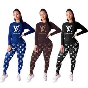 Kış yazmak hoodies Sonbahar üst + pantolon 2pieces seti kadınlar marka gündelik eşofman baskı eşofman artı boyutu spor jogging yapan takım 2324 kıyafetler