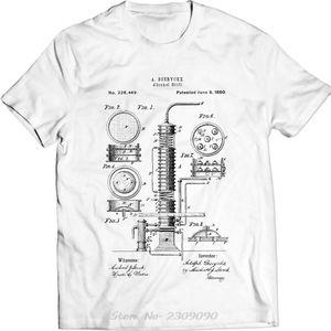 Alcol Ancora Liquor Distiller brevetto T-Shirt Men Uomini divertente Hot cotone Tshirt vendita di nuovo modo Cool Top T Shirt Tees Harajuku