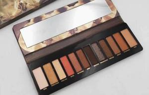Livraison gratuite ePacket New Maquillage Yeux Marque Nouveautés Hot Nude Reloaded EYESHADOW palette 12 couleurs EYESHADOW palette 999!