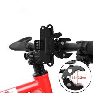 Los titulares de la motocicleta Teléfonos de bicicletas soporte para teléfono bicicletas Soportes de manillar de soporte telefónico soporte del soporte del teléfono celular para el iPhone xs Samsung S9