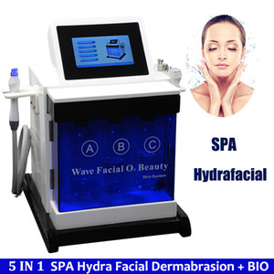 5 in 1 Professional Hydro Water Dermabrasion Peeling Machine Facial Skin Care Oxygen Water aqua Jet Peel Spa Microdermabrasion Machine