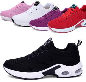 Mode Luxus-Designer-Turnschuh-Frauen-beiläufige Schuh-Breathable Ineinander greifen spitze Zehe Rennen Runner-Schuh-draußen-Trainer mit dem Kasten
