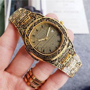 Luxury Watch Men 39 mm Quartz Movement Mens Watches Watch Women Gold Vintage Clock Women Bracelet Wirstwatch Ladies Clock Gifts