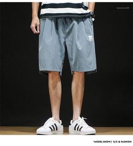Мужские шорты Повседневная мода Jogger колена Sweatpants Man Summer Sport Брюки Хип-хоп шорты Плюс Размер Relaxed