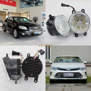 July King 18W 6500K 6LEDs LED Daytime Running Lights LED Fog Lamp case for Toyota Aurion Camry 2006-2017, over 1260LM pc