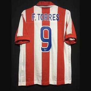 Retro Atlético Madrid 2003/04 Centenary Fußball-Trikots Torres Simeone Futbol Weinlese-Fußball T-Shirt klassisch Shirts Kit Maillots