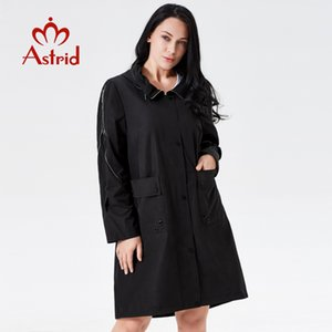 2019 trench coat primavera donna Hooded Fashion trench femminile classico Manteau femme hiver Ukraine ladies new astrid AS-7007