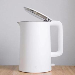 XIAOMIMijia bouilloire électrique Théière 1.5L mise hors tension automatique Protection Cuisine Chaudière Teapot instantanée Chauffage bouteilles d'eau en acier inoxydable