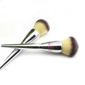 1 PC Pincel de Maquiagem Escova Em Pó Macio Sintético Profissional Pó Pintura Blush Único Maquiagem Escova Make UpTools RRA1888