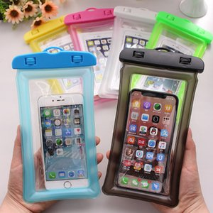 Waterproof Phone Case Waterproof Pouch Cell Phone Dry Anti-sinking Bag for IPhone Smartphones Up To 6 Inch Phone Accessories