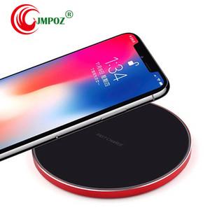 Qi Caricatore Senza Fili per iPhone 8 x XR XS Max QC3. 0 10 W Veloce Senza Fili di Ricarica Per Samsung S9 S8 Nota 8 9 S7 USB Charger Pad con la luce del LED