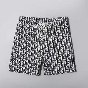 2020 Новая мода Мужские шорты Повседневная Solid Color Board Shorts Men Summer стиль Пляж Бассейн шорты Мужчины Спорт Short # 111