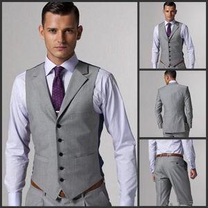 2018 Nova casamento bonito Noivo Smoking (Jacket + Tie + colete + calça) Men ternos feitos sob encomenda Feito terno formal por Homens Wedding Bestmen smoking barato 4249