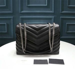 Luxus-Frauen-Kettenbeutel, neue Designer-Schulterbeutel der Frauen, oben ursprüngliche Handtasche Lederdesigner, Trainerhandtasche