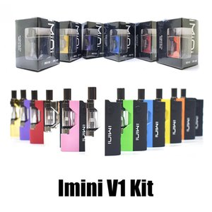 [1PC] Original Imini Grosso Cartucho de óleo vaporizador Kit 500mAh Box Mod Battery 510 Tópico New Liberty V1 Tanque Wax Atomizador Vape Pen