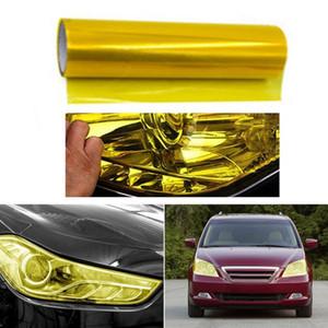 30см X 100см Авто Противотуманные фары Dye Фонарь дыма Фильмы Листовой Обложка наклейки 12inch X 40inch автомобилей Stylin инструменты высокого качества