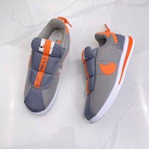 2020 горячий продавец Ламар X Cortez Kenny Basic проскользнуть 1 черный белый оранжевый мужские кроссовки Классический дизайнер дышащий случайный зп