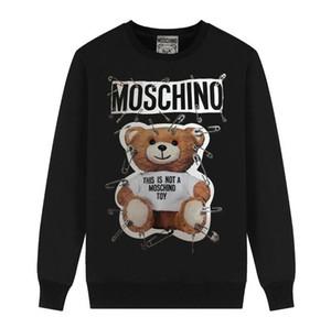 haute taille de chandail occasionnels qualité des hommes impression d'ours des hommes de mode et des femmes m-2XL