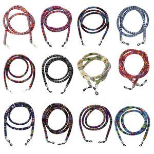 50 개 / 몫 다채로운 안경 민족 코드 안경 문자열 안경 리테이너 일광욕 선글라스 끈 라운드 스트랩