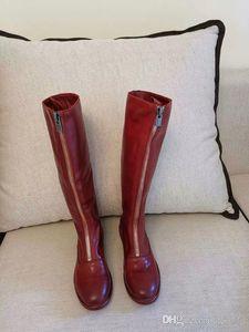 rahat Martin td190803 calfskin 2019 moda lüks tasarımcı bayan botları çocuk uyluk yüksek çizmeler bayanlar kış seksi diz streç