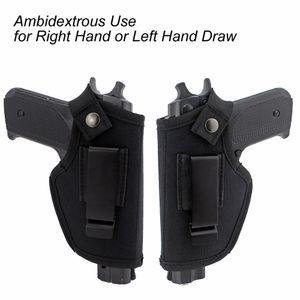 Caccia Tactical Gear Nascosta Fondina da cintura Fondina IWB per tutte le Compact Subcompact Pistols Accessori da esterno W / Clip