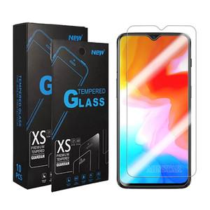 Effacer écran en verre trempé protecteur pour OPPO Trouver X2 Lite A31 A91 A72 A53 A32 A92S A5 2020 AX5 AX7 Reno 4 Realme 7