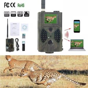 Caza de la cámara de 12MP 9V infrarrojos de visión nocturna de la fauna Deer Trail transferencia HC300M Cámara Fotos Vídeo Por SMS MMS GSM Gran