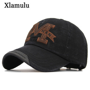 Xlamulu Wholesale Snapback Hat Cotton Baseball Cap Snapback Hats For Men Women Gorras Casquette Bone Trucker Men Dad Male Caps M