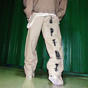 UNCLEDONJM Hip Hip Pants Street Männer Harajuku Baggy Pants Graffiti Sweatpant Vintage-Track-Hosen Harem ED921