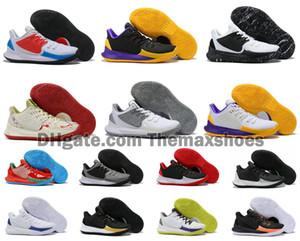 Sıcak Erkek Kyrie Düşük 2 II 2S KL2 Düşük Ayak bileği Basketbol Ayakkabı Irving Yakınlaştırma Spor Ucuz Açık Eğitmenler Spor ayakkabılar Boyut US7-12
