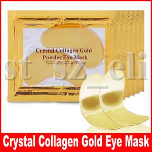 Новые Коллагеновые хрустальные маски для глаз Анти-отечность увлажняющие маски для глаз Антивозрастные маски Коллагеновая золотая пудра для глаз
