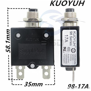 Taiwan KUOYUH 98 Series-17A Overcurrent Protector Overload Switch